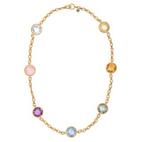 Multicolored Gemstone Necklace