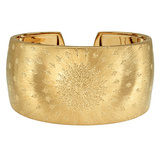 &quot;Byzantine&quot; 18k Gold Cuff Bracelet