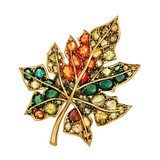 Sugar Maple Leaf Brooch