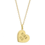"""Heart Candy"" 18k Gold Pendant/Charm"