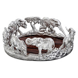 Silver Elephant Wine Coaster