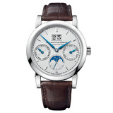 Saxonia Annual Calendar Automatic White Gold (330.026)