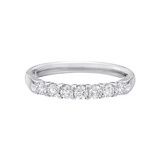 Seven Stone Diamond Eternity Band (~0.5 ct tw)