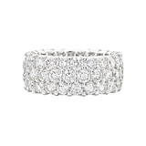 ​3-Row Diamond Eternity Band (6.26 ct tw)