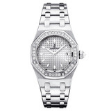 Lady Royal Oak Steel & Diamonds (67601ST.ZZ.1230ST.01)