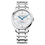 ​Classima Dual Time 40mm Steel (10273)
