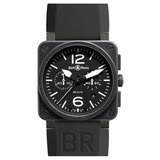 BR 03-94 Chronograph Automatic Steel Carbon
