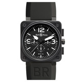 BR 01-94 Chronograph Automatic Steel Carbon