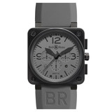 BR 01-94 &quot;Commando&quot; Chronograph Automatic Steel Carbon