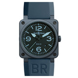BR 03-92 Automatic Blue Ceramic
