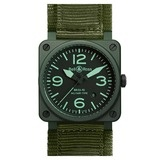 "BR 03-92 ""Military"" Automatic Green Ceramic"