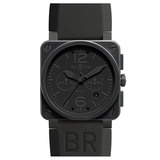 "BR 03-94 ""Phantom"" Chronograph Automatic Steel Carbon"