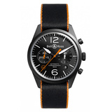 "BR 126 ""Carbon Orange"" Chronograph"