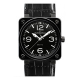 BR 01-92 Automatic Black Ceramic