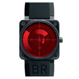 "BR 01-92 ""Red Radar"" Automatic Steel Carbon"