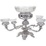 Boulton Silver 5-Basket Epergne