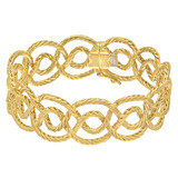 &quot;Cerchi&quot; 18k Gold Link Bracelet