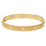 "18k Gold & Diamond ""Classica"" Bangle Bracelet"