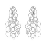 "18k White Gold ""Hawaii"" Chandelier Earrings"