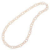 "18k Pink Gold ""Hawaii"" Long Necklace"