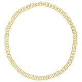 "18k Yellow Gold ""Honolulu"" Link Necklace"