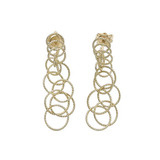 "18k Yellow Gold ​""Honolulu"" Short Drop Earrings"