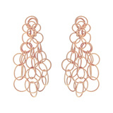 "18k Pink Gold ""Hawaii"" Chandelier Earrings"