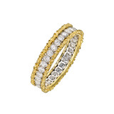 "18k Gold & Diamond ""Rango"" Band Ring"
