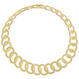 """Rasko"" 18k Gold Link Necklace"