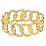 &quot;Raso&quot; 18k Gold Link Bracelet