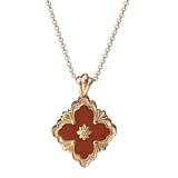 "​18k Yellow Gold & Jasper ""Opera"" Pendant Necklace"