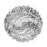 Medium Silver Oak Leaf Dish