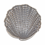 Large Silver Venus Shell Dish