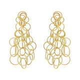 "18k Yellow Gold ​""Hawaii"" Drop Earrings"