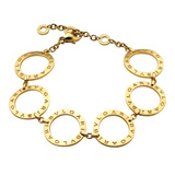 Bvlgari-Bvlgari 18k Gold Link Bracelet