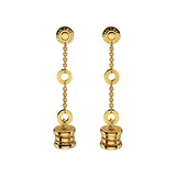 "18k Yellow Gold ""B.Zero1"" Pendant Earrings"