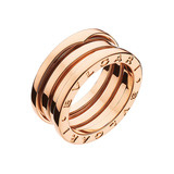 "18k Pink Gold ​""B.Zero1"" 3-Band Ring"
