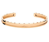 B.Zero1 18k Pink Gold Cuff Bracelet