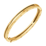 "​18k Yellow Gold ""BZero1"" Bangle Bracelet"
