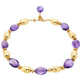 """Mediterranean Eden"" 18k Gold & Amethyst Necklace"