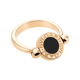 Black Onyx & Mother-of-Pearl Flip Ring