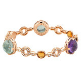Parentesi Cocktail Multicolored Gemstone Bracelet
