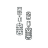 Parentesi Diamond Drop Earrings