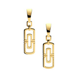 Parentesi 18k Gold Drop Earrings