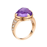 Parentesi Amethyst Ring with Diamond