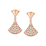 "​18k Pink Gold & Diamond ""Divas' Dream"" Drop Earrings"