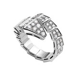 Serpenti Pav Diamond Ring