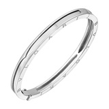 "​18k White Gold ""BZero1"" Bangle Bracelet"