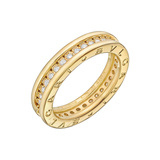 "​18k Yellow Gold & Diamond ​""BZero1"" 1-Band Ring"