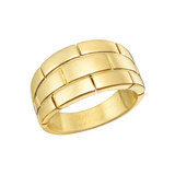 "18k Yellow Gold ""Pantheré"" Ring"